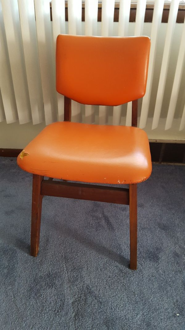 Stupendous Mid Century Modern Orange Desk Chair For Sale In Pittsburgh Short Links Chair Design For Home Short Linksinfo