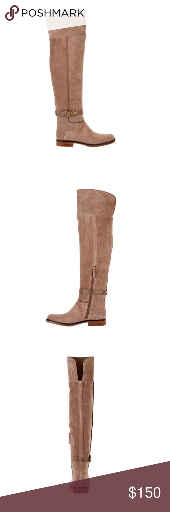 38f166e1f785 Perfect 🎁 Franco Sarto Wide Calf Boots FREE SHIPPING TODAY ONLY Franco  Sarto Wide Calf Suede
