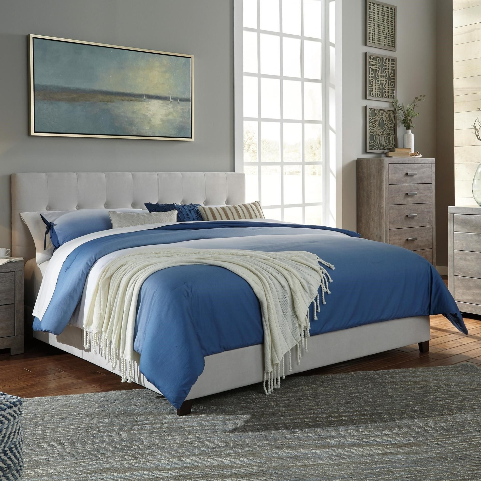 Dolante King Upholstered Bed By Signature Design By Ashley
