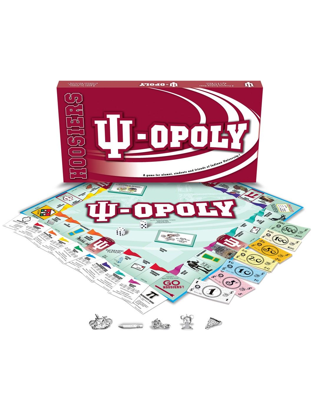 IU-OPOLY - Accessories - Indiana - Big 10 | Scout.com