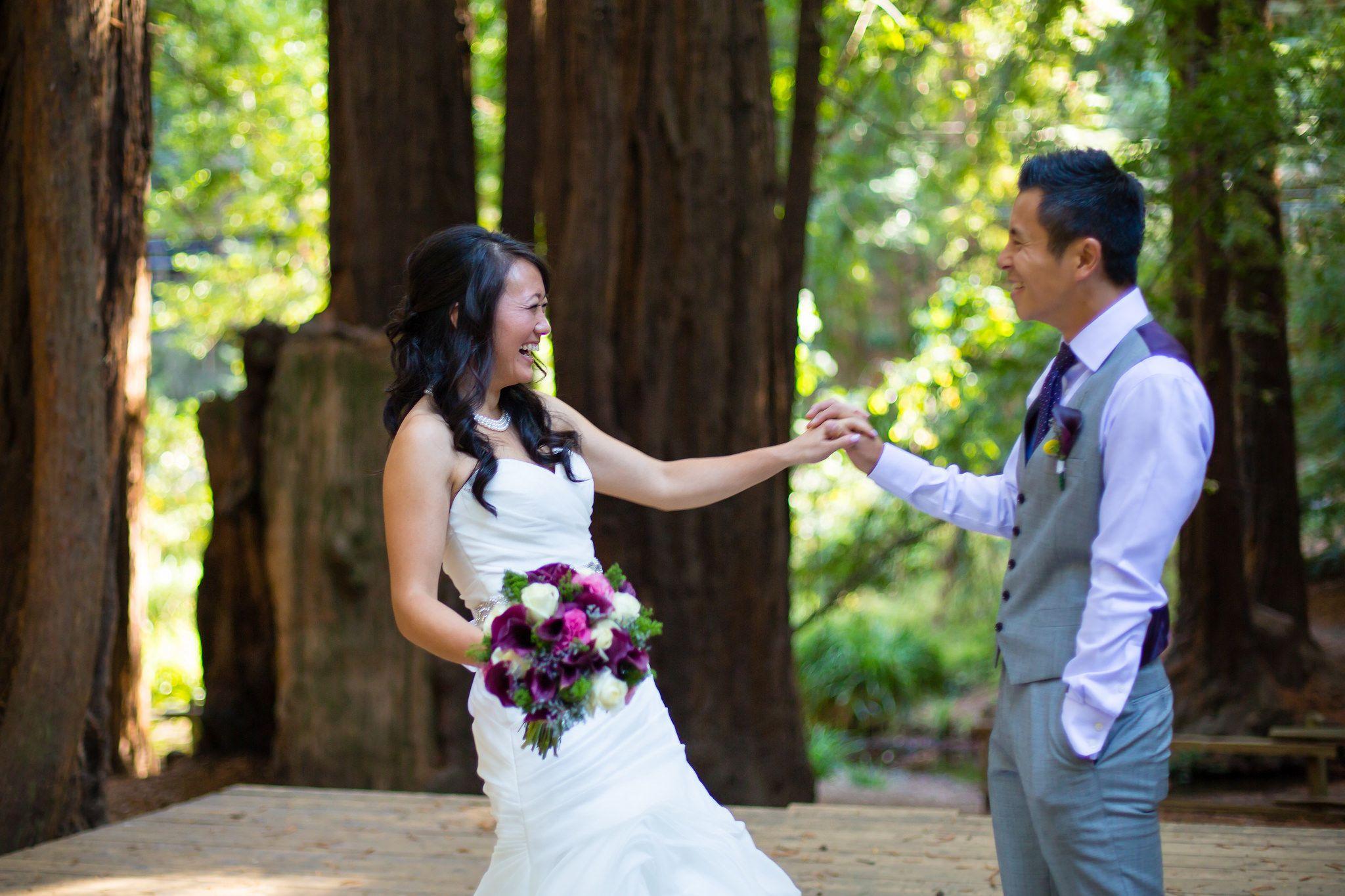 Laura ryan northern california redwood wedding mill for Wedding dresses northern california