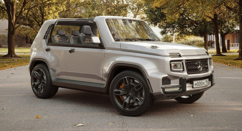 G Niva 2020 Is What You Get When You Mix A Mercedes G Class With A Lada Niva Carscoops In 2020 Mercedes G Class G Class Chevy Corvette