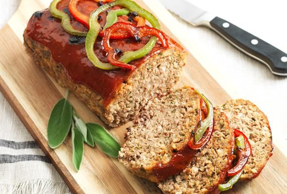 Cozy up to the dinner table and enjoy our classic #meatloaf recipe with one of these unique toppings.