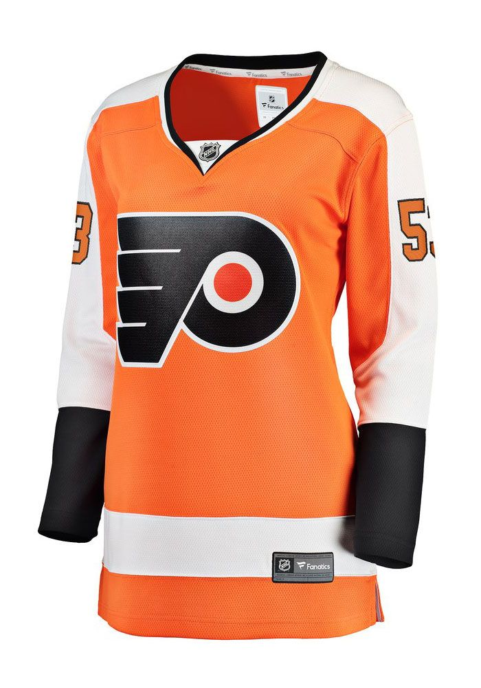 78af11795 Shayne Gostisbehere Philadelphia Flyers Womens Orange Breakaway Hockey  Jersey - 17280651