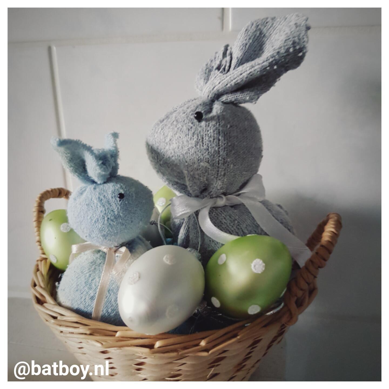 Knutselen Met Sokken Diy Pasen Easter Sokken
