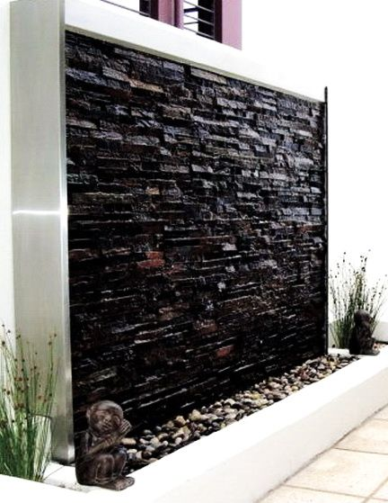 30 Relaxing Water Wall Ideas For Your Backyard Or Indoor 400 x 300
