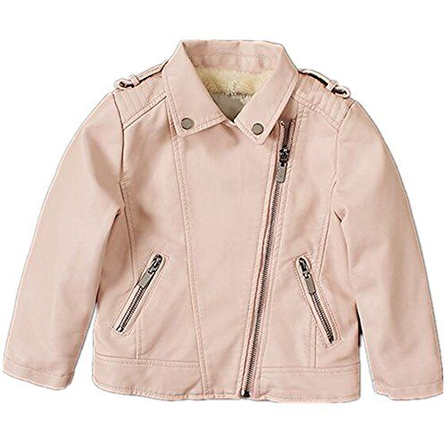 29adf659dc8c LJYH New Kids Jackets Kids PU Leather Jacket Girls Leather Coat ...