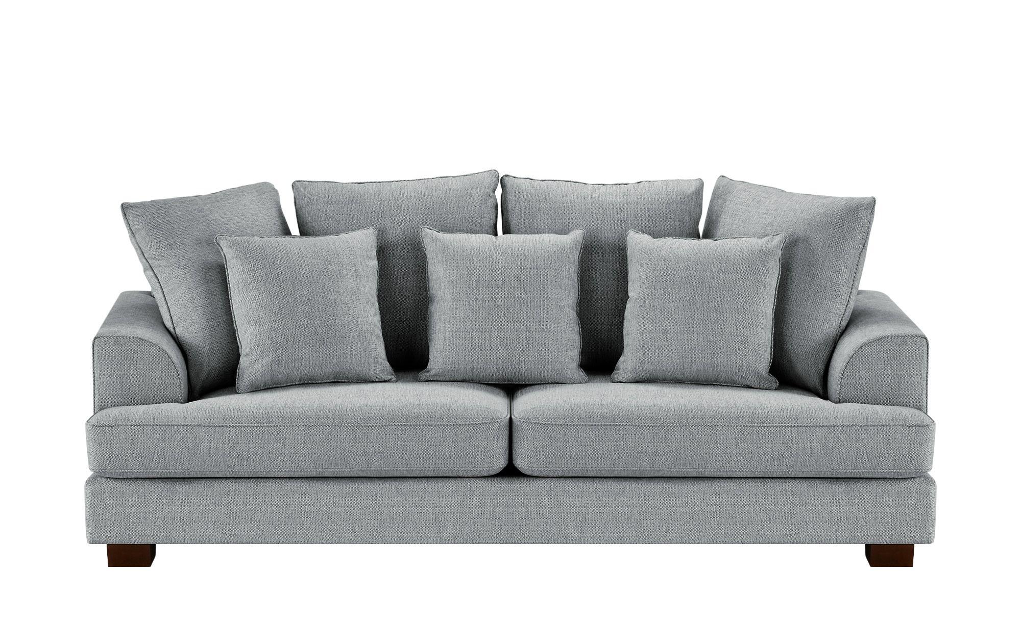 Soho Sofa Hellgrau Webstoff Franka Grau Masse Cm B 231 H