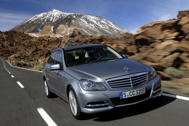 C Class on the road