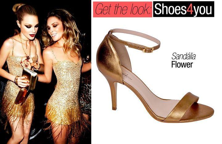 sandália Flower da Shoes4you!  http://shoes4you.com.br
