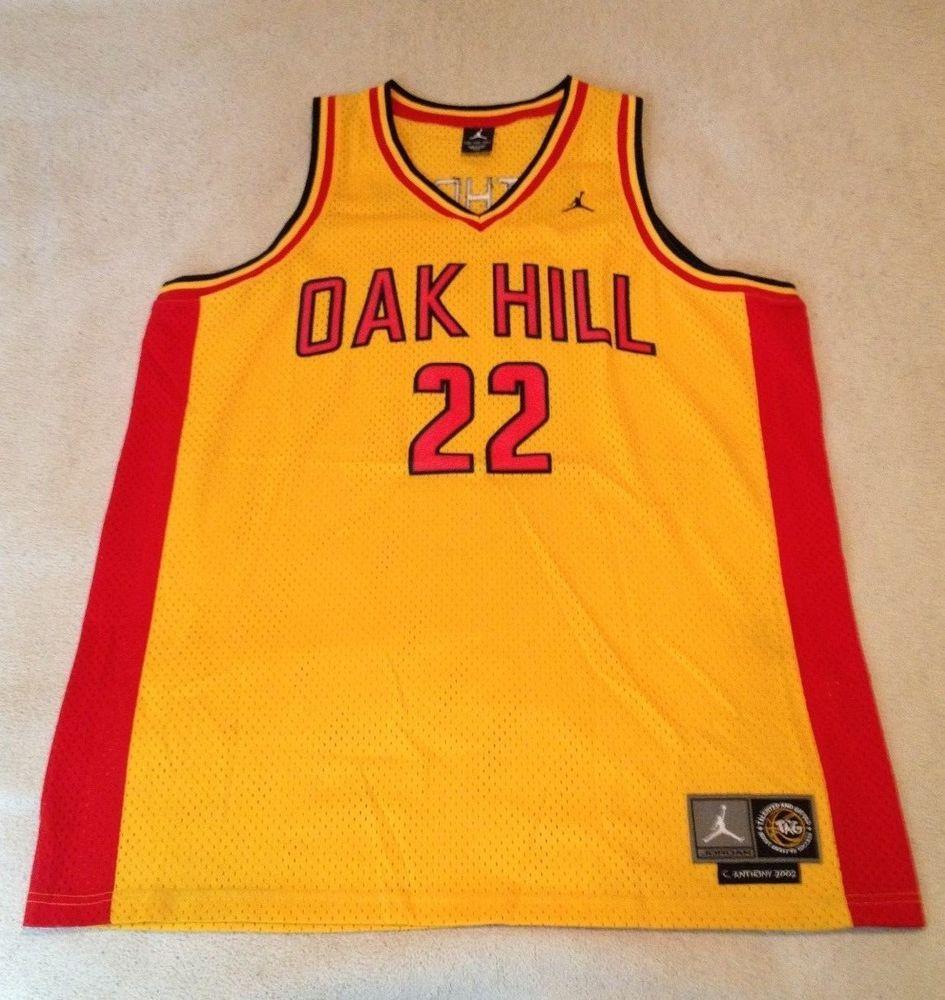 2e667670a69 Nike Vintage Carmelo Anthony Oak Hill Academy Swingman Jersey XXL NWOT  Jordan  Nike  HighSchool