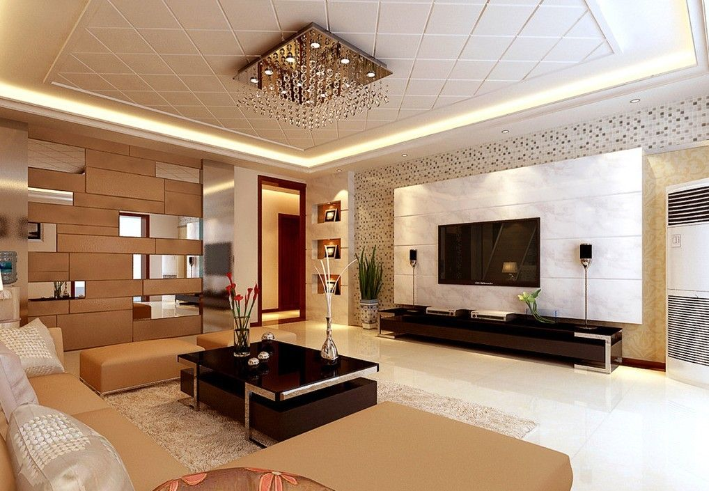 Ceiling Design In Living Room Shows More Than Enough About How To Decorate A