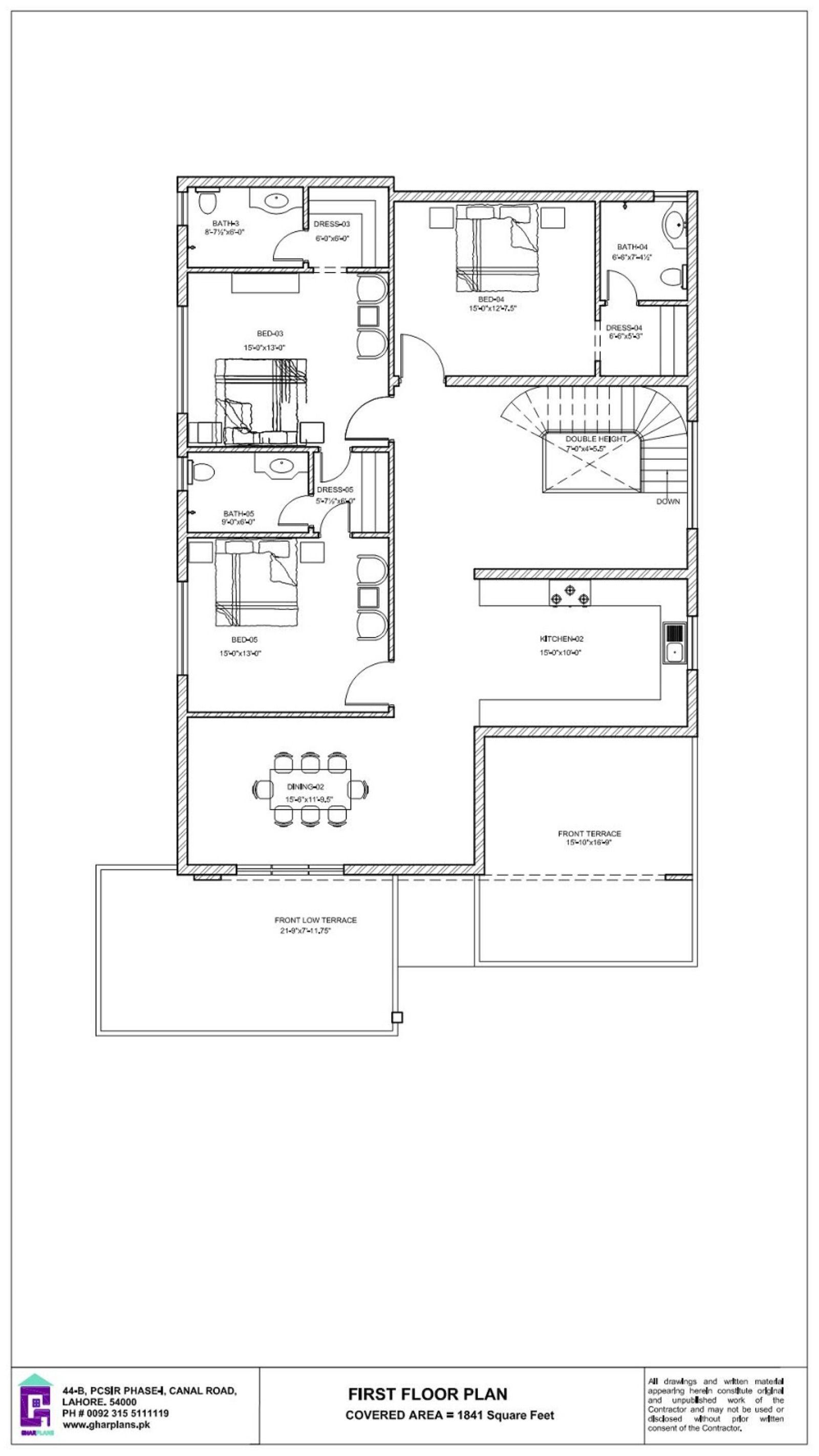 1 Kanal Home Design Idea 50 X 90 First Floor Plan House Plans Country Style House Plans Floor Plan Layout