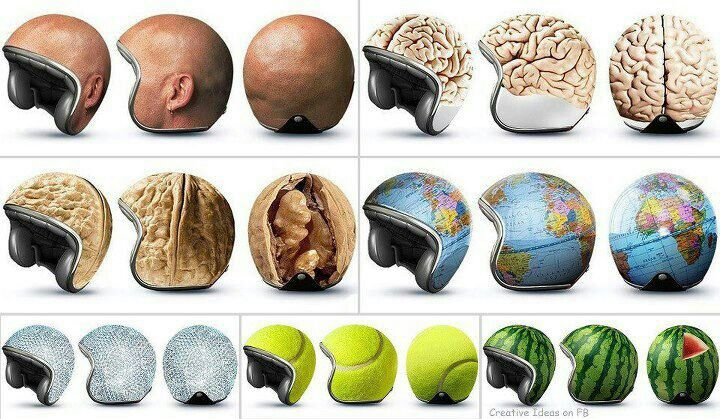 Funny Bike Helmets Unique Items Products