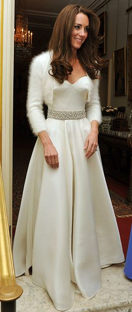 Kate Middleton Royal Wedding Reception Dress Fashion Watch Pinterest And