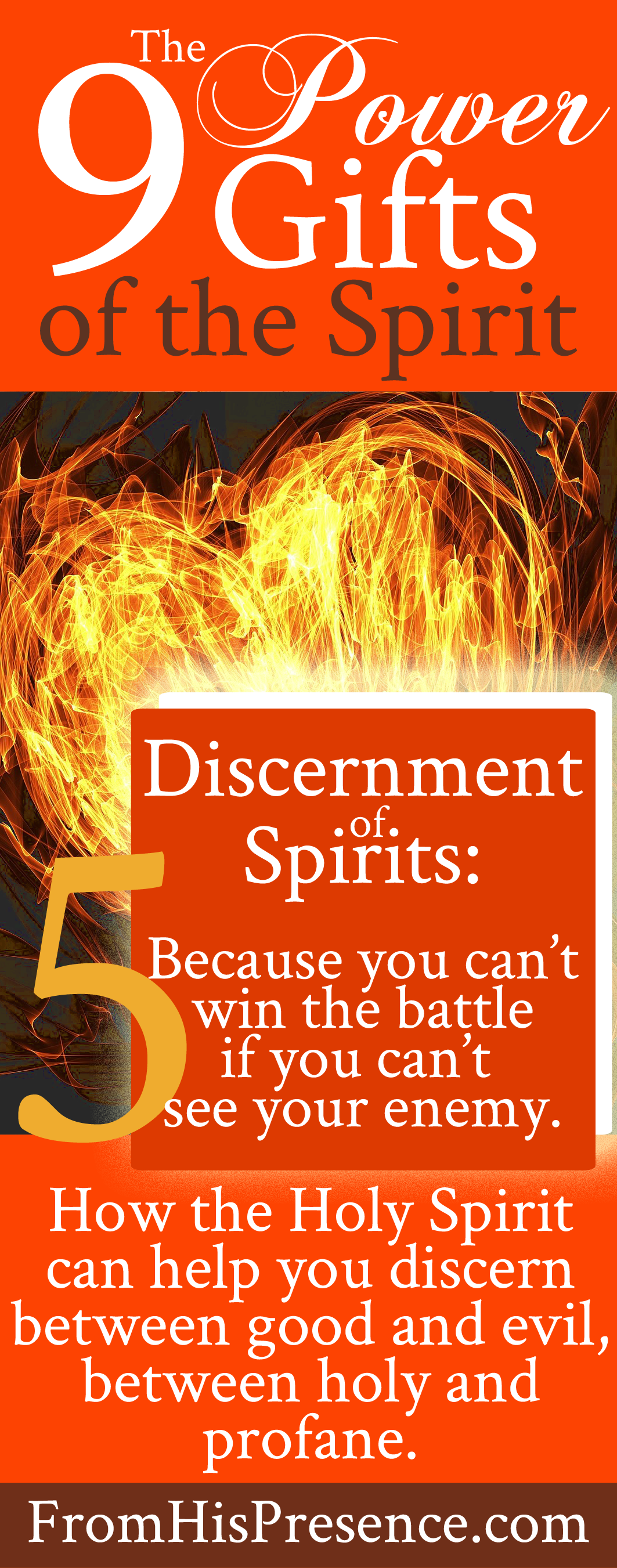 Discernment Of Spirits One The 9 Power Gifts Holy Spirit Read How It Works And To Use Here In This Free Blog Series
