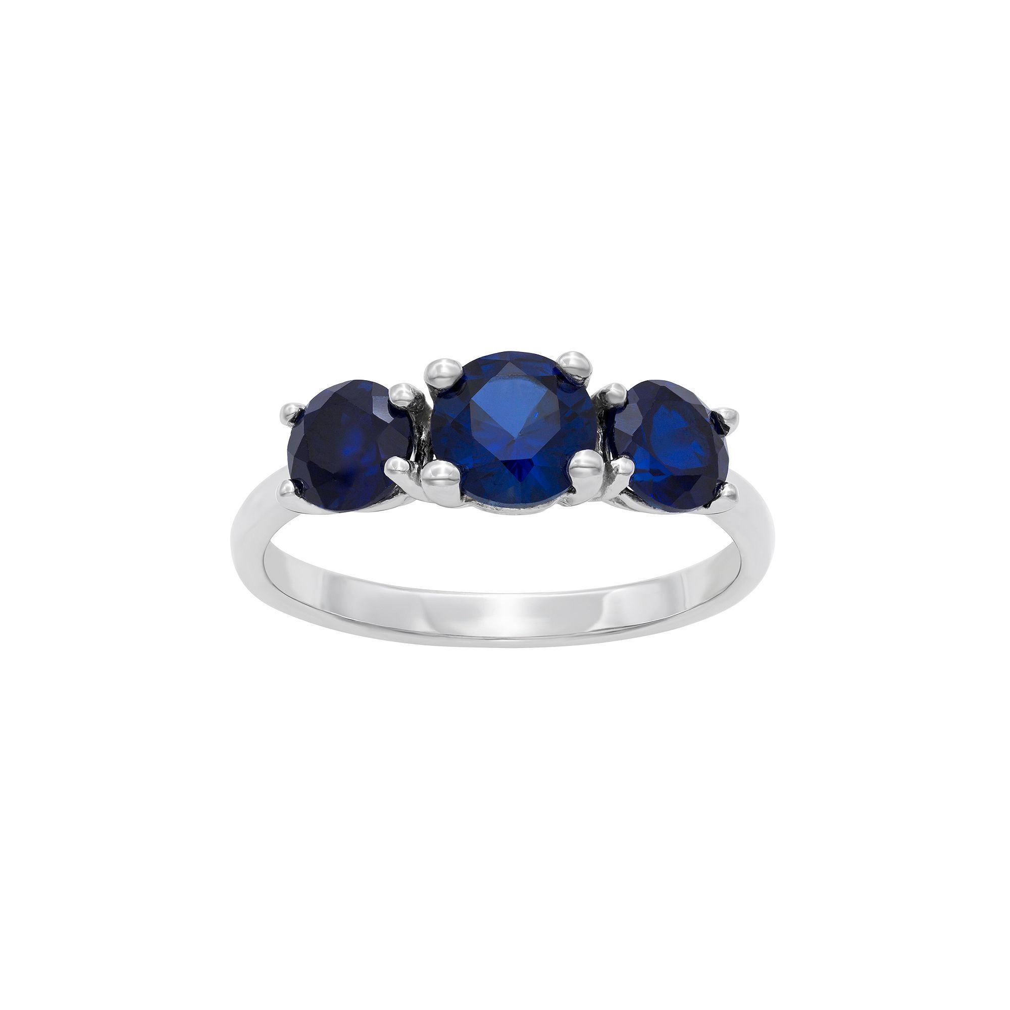 rings pin created with blue engagement sapphire and set lab pictured drew ring