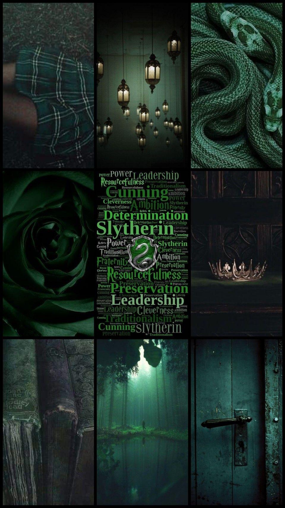 Slytherin Harry Potter Dark Green Wallpaper Aesthetic In 2020 Dark Green Wallpaper Slytherin Wallpaper Dark Green Aesthetic
