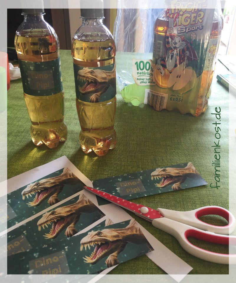 Dino Pipi als Getränk zur Dino Party | Geburtstag | Pinterest ...