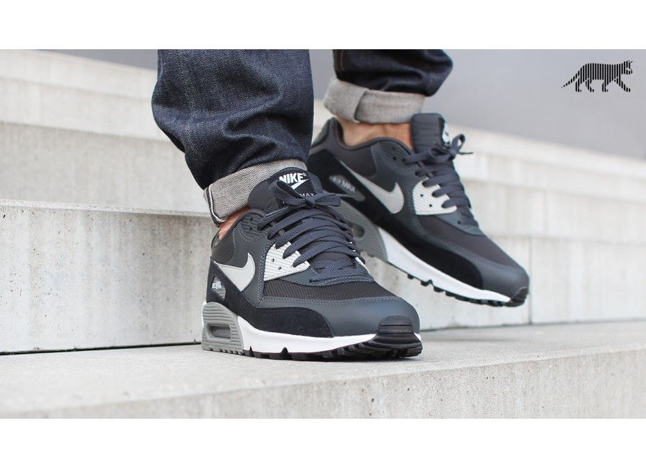 nike air max 90 essential anthracite granite black