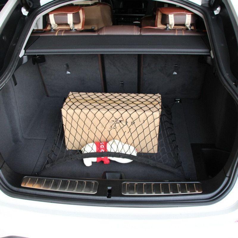 Bbq Fuka 4 Hooks Car Trunk Cargo Organizer Storage Net 70 X 70 Cm Fit For Audi A4 A6 A8 Q5 Q7 S4 S5 Car Styling Audi A4 Cargo Organizer Cars Organization