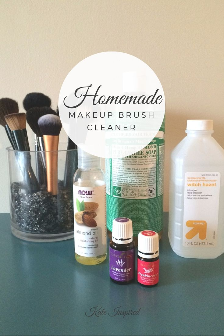 Homemade Makeup Brush Cleaner Diy makeup brush cleaner