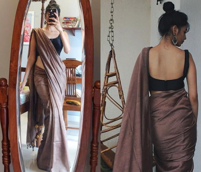 Follow This Brand To Style Simple Sarees in Epic W