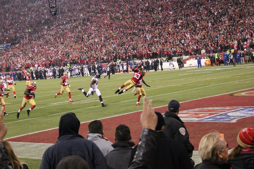 A picture I took at the last game at Candlestick park