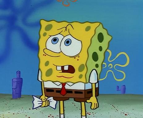 Spongebob Licking Floor Meme