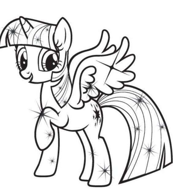 Coloriage Princesse Twilight Sparkle.Pin By Jesica Wae On Coloring Pages My Little Pony Coloring