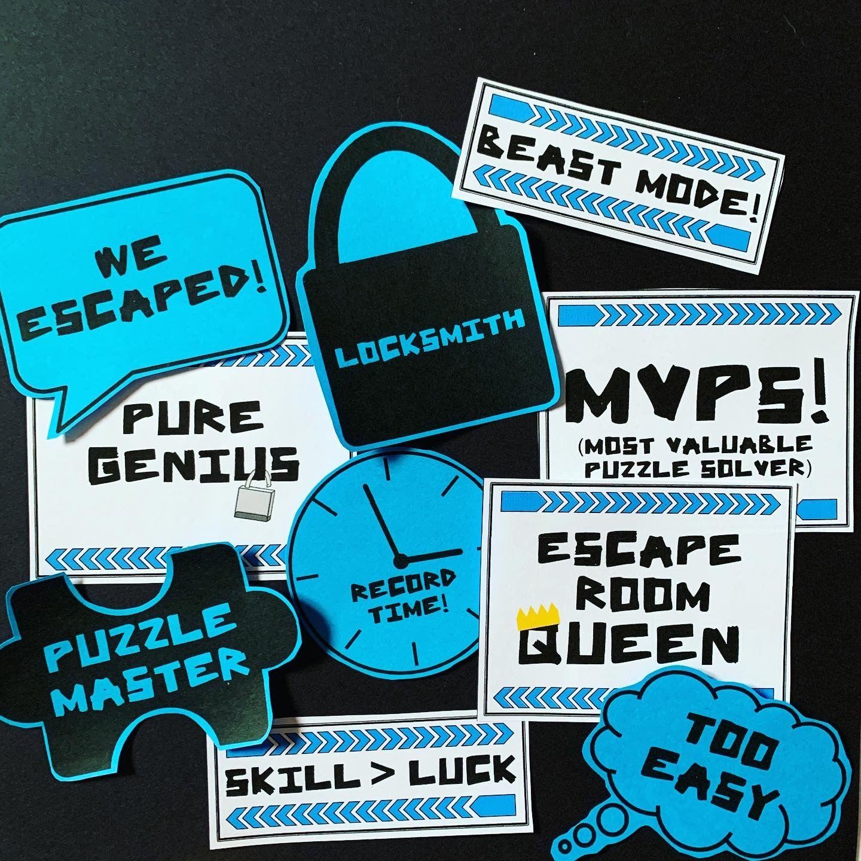 Escape Room Signs Room Signs Escape Room Escape Room For Kids