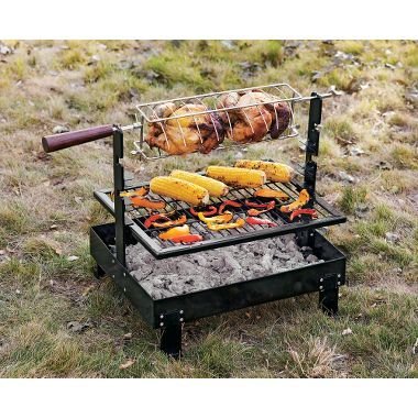 Cabela's: Rome Firepan Rotisserie Grill | Outdoor cooking ...