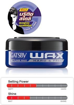 Gatsby Japan Styling Wax Hard Free 75g Product Of Thailand This Is An Amazon Affiliate Link Read More Reviews Of The Product Hair Gel Gatsby Wax Hair Shine