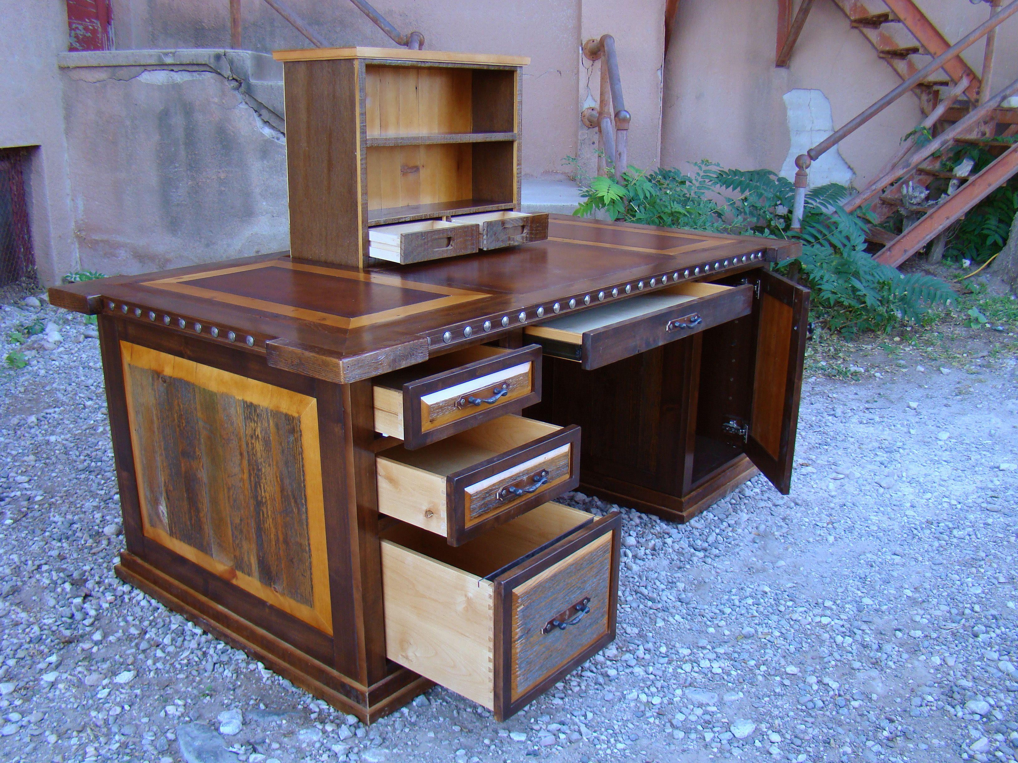 carson executive desk secret compartment