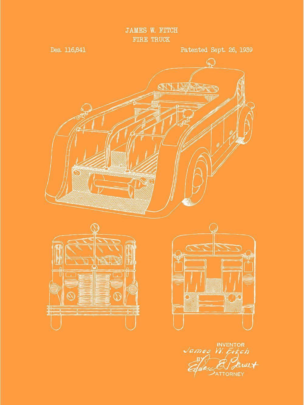 Fire Truck - J. Fitch - 1939