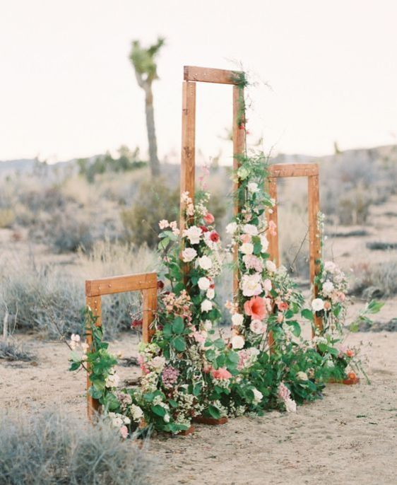 Ladder Wedding Altar: 25 Head-Turning Wedding Altars, Arches And Backdrops
