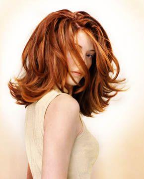 modern 60's flip hairstyle medium