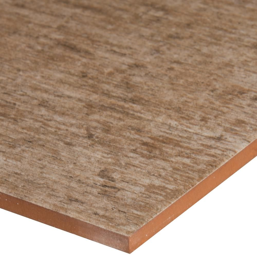 msi amazon oak 7 in x 20 in glazed ceramic floor and