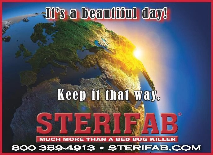 Keep your day beautiful with Sterifab! Bed bugs, Rid of