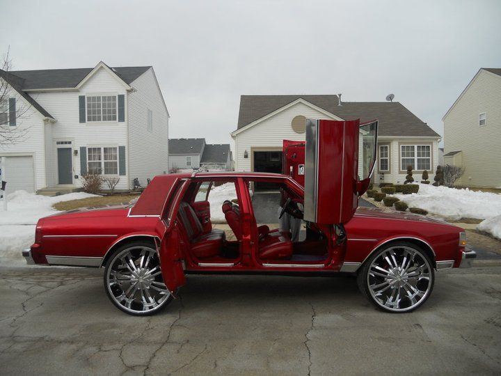Dope Box Chevy Butterfly Doors Old Skools Pinterest