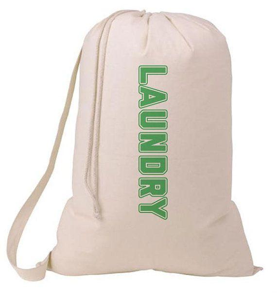 School Colors Laundry Bag Humorous Laundry Bag College Hamper