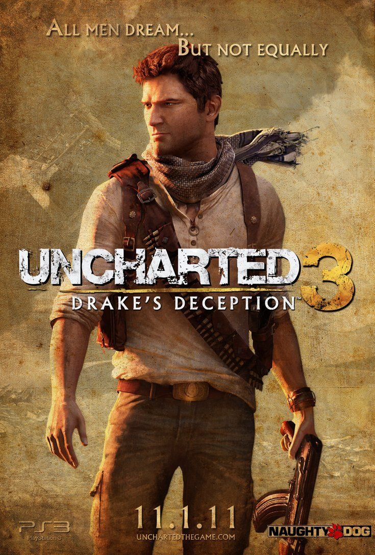 403 Forbidden Uncharted Poster Uncharted Drake
