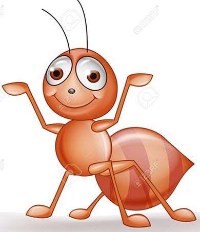 La Hormiga Ingeniosa Historias Para Pensar Dibujos Illustration Abeja Linda