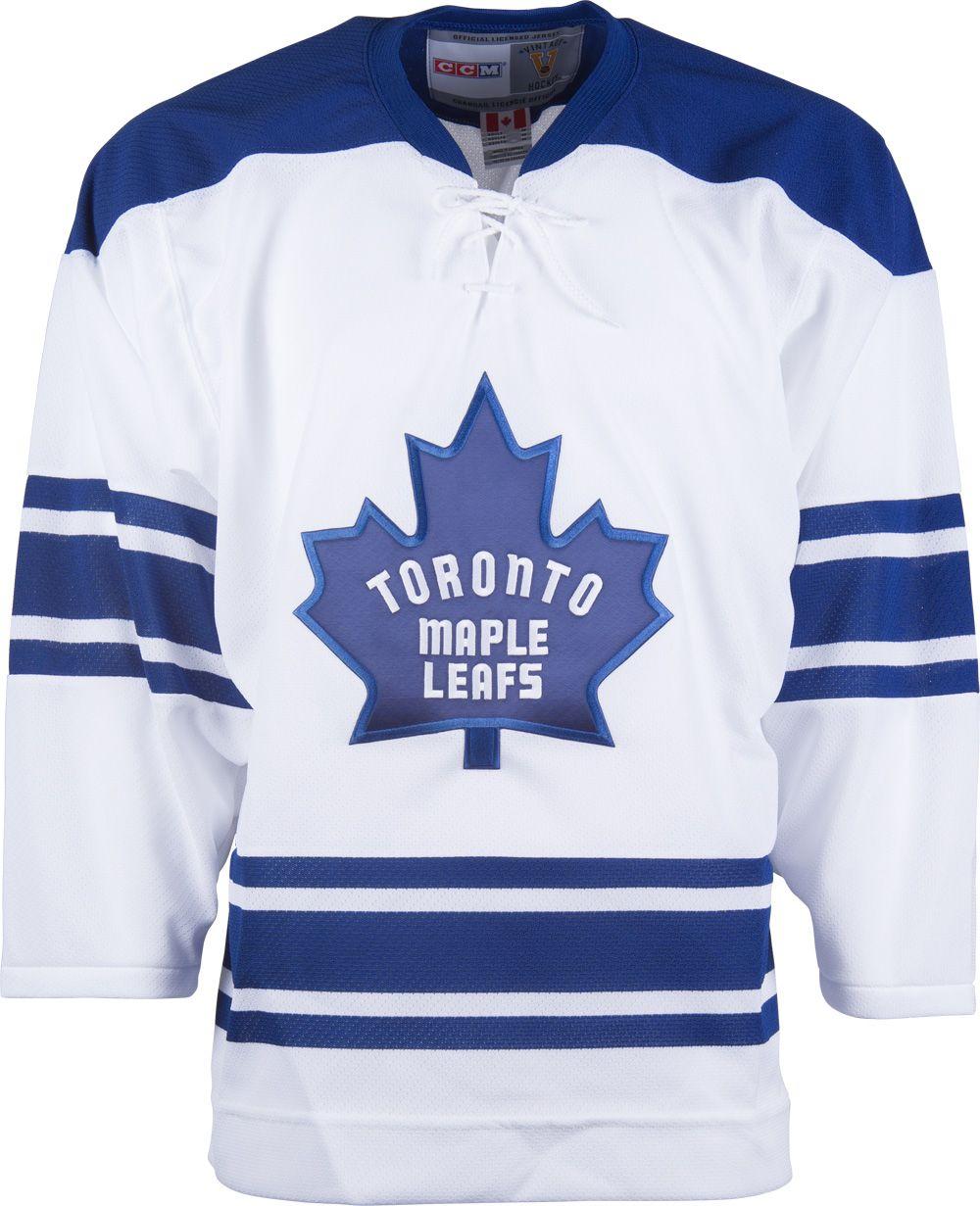 buy online 373e3 ae338 Toronto Maple Leafs CCM Vintage 1967 White Replica NHL ...