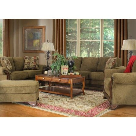 Ashley montgomery mocha sofa sofa living room couch gallery furniture houston tx for Montgomery mocha living room set