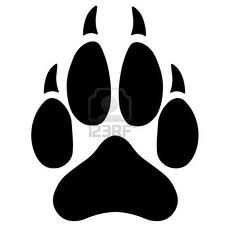 Wolf Footprint Tattoos Wolf Paw Tattoos Wolf Paw Wolf Print Tattoo