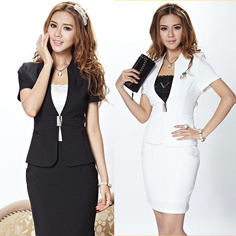 d73cc7c2aeac uniformes para secretaria en vestido - aVestidos.com Ropa De Trabajo