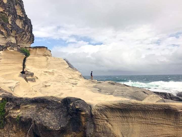 Kapurpurawan White Rock Formation in Burgos, Ilocos Norte