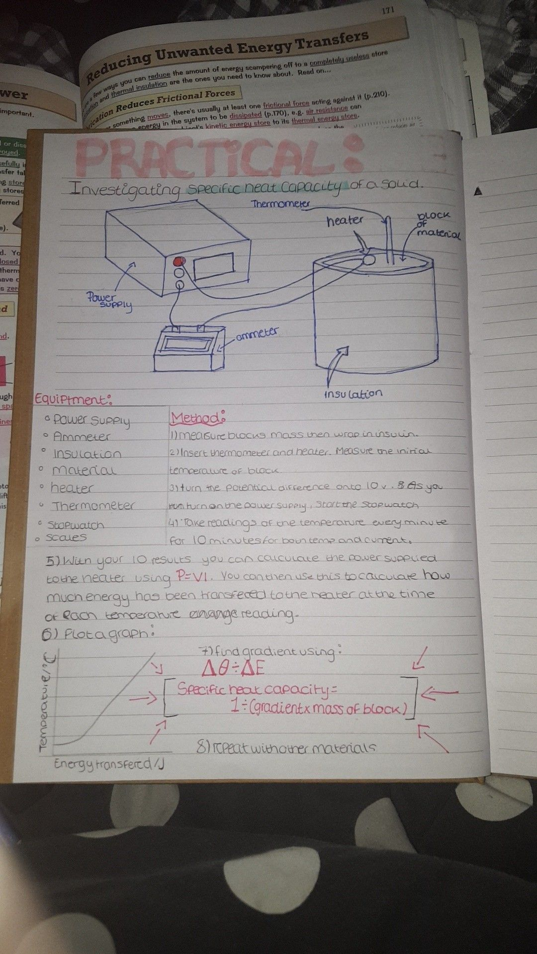 The Specific Heat Capacity Required Practical For Gcse