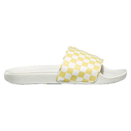vans slides yellow | Vans slides, Vans